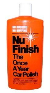 NuFinish car polish once a year car polish
