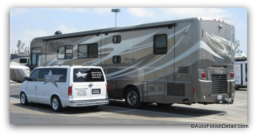 professional rv detailing in orange county