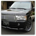 range rover auto detailing pictures