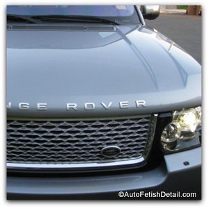 range rover detailing