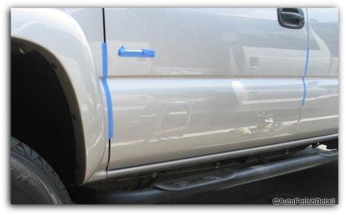 remove truck side door rails