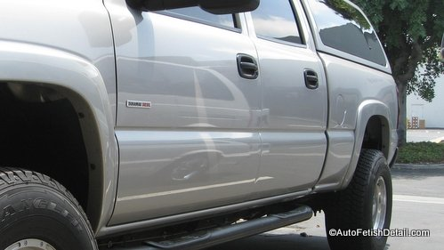 remove truck side molding chevy truck after