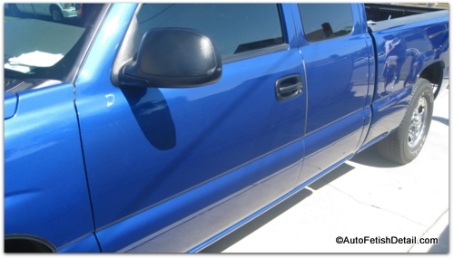 removing side door molding chevy truck