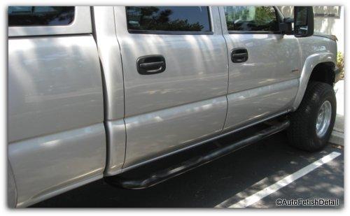 removing truck side door rails