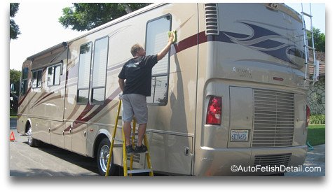 rv cleaner wax