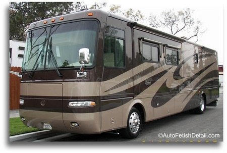 rv cleaning detailing