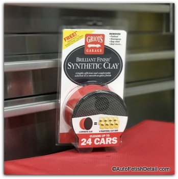synthetic clay to clay bar car