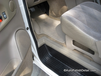 take care car interior detail