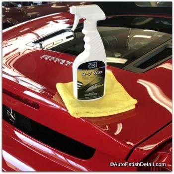 Zaino car wax vs q7 spray wax